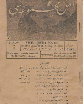 TURKISH AND CRIMEAN TATAR MINORITY IN ROMANIA:  امل . Emel (Ideal) No. 132. [Emel mecmuası]