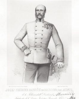 MAROICIC: Josef Freiherr Maroicic de Madone del Monte, k. k. Feldmarschall-Lieutenant, Inhaber des k. k. Linien-Infanterie-Regiments No. 7