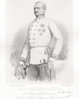 AIROLDI: Paul Freiherr v. Airoldi, k. k. Feldmarschall Lieutenant, Inhaber des k. k. Linien Infanterie Regiments No. 23