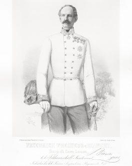 BIANCHI: Friedrich Freiherr v. Bianchi Duca di Casa Lanza, k. k. Feldmarschall Lieutenant, Inhaber des k. k. Linien Infanterie Regiments No. 55