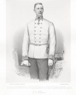 HABSBURG, KARL SALVATOR: Carl Salvator, Erzherzog von Oesterreich, k. k. Oberst, Inhaber des k. k. Linien Infanterie Regiments No. 77