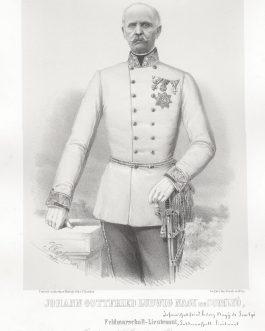SOMLYO: Johann Gottfried Ludwig Nagy de Somlyo, Feldmarschall-Lieutenant, 2. Inhaber des k. k. Cürassier-Regiments No. 3