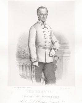 HABSBURG-LOTHRINGEN: Ferdinand I. Kaiser von Oesterreich, Inhaber des k. k. Cürassier-Regiments No.4
