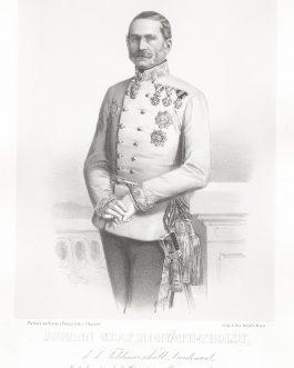 HORVÁTH-TOLDY VON SZÉPLA: Johann Graf Horváth-Tholdy, k. k. Feldmarschall Lieutenant, Inhaber des k. k. Cürassier-Regiments No. 12