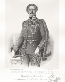 LEGEDITSCH: Ignaz Ritter v. Legeditsch, General der Cavallerie, 2. Inhaber des k. k. Huszaren-Regiments No. 2