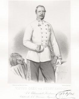 SZENTKATOLNA: Victor Cseh von Szent Katolna, k. k. Feldmarschall Lieutenant, Inhaber des k. k. Huszaren-Regiments No. 4