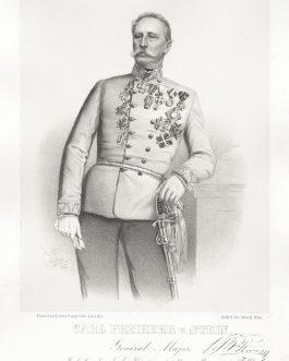 STEIN: Carl Freiherr v. Stein, General Major, Inhaber des k. k. Küsten Artillerie-Regimants