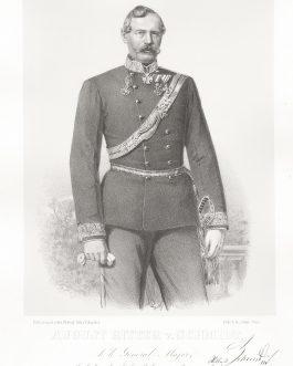 SCHMIDT: August Ritter v. Schmidt, k. k. General Major, Inhaber des k. k. Raketeur-Regiments