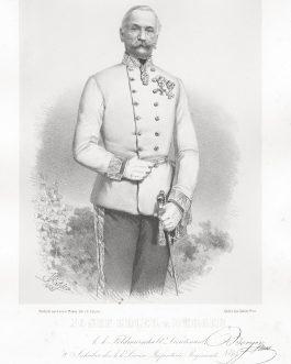 BERGER: Josef Edler v Berger, k. k. Feldmarchall Lieutenant, 2. Inhaber des k. k. Linien Infanterie Regiments No. 64