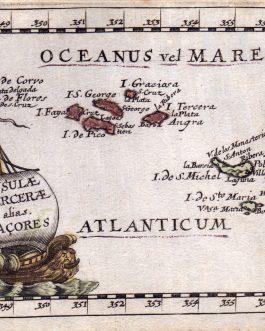 AZORES: Insulae Tercerae alias Acores