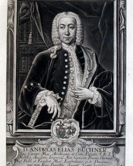 Andreas Elias BÜCHNER: D. Andreas Elias Büchner Sac. Caesar. Maj.