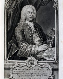 Georg Bernhard BILFINGER: Georgius Bernhardus Bilfinger