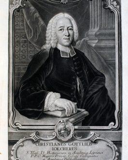 Christian Gottlieb IÖCHER: Christianus Gottlieb Ioecherus
