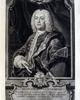 Johann Christoph GOTTSCHED: Jo. Christophorus Gottschedius