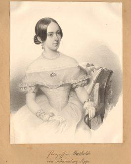 Prinzessin Mathilde von Schaumburg-Lippe
