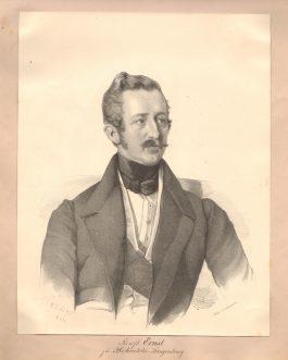 Fürst Ernst zu Hohenlohe-Langenburg