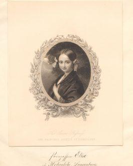 Her Serene Highness The Princess Amelie of Hohenlohe. Princessin Elise zu Hohenlohe-Langenburg