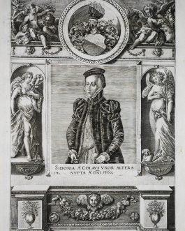 COLAUS, Sidonia de: Sidonia A Colaus Uxor Altera Nupta A. Dni 1560