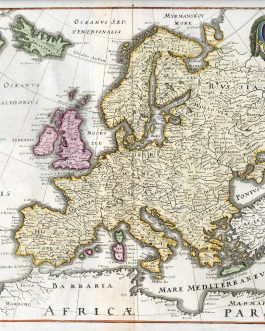 EUROPE: Europa Nova Delineatio