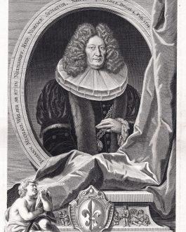 WELSER VON NEUNHOF: Johann Michael Welser ab et in Neunhoff, Reip. Norimb. Senator