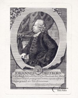 DREYKORN: Johannes Dreykorn. V. D. Minist. Norimb. Diac. ad Div….