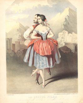 BALLET – FANNY CERRITO: La Redowa Polka, Danced by Mad.lle Cerito and Mons. St. Leon.