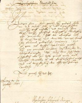 RABATTA: Anton von Rabatta, kaiserlicher Statthalter in Gradisca, Botschafter in Venedig (ca. 1618-1648).