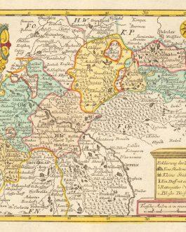 BRZEG, Poland: Das Fürstenthum Brieg. Leipzig 1749.