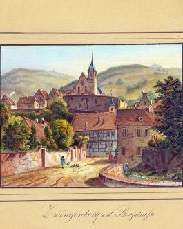 ZWIGENBERG – HESSEN: Zwigenberg a. d. Bergstrasse