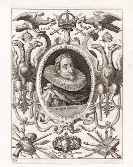FERDINAND II HABSBURG: Ferdinandus. D. G. Roman. Imperator Semper Augustus Germani […].