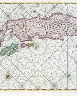 INDONESIA – SPICE ISLANDS: De Landvoogdy van Amboina met de elf onderhoorige Eylanden.