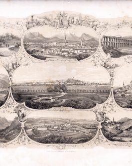 LJUBLJANA: Laibacher Zeitung. Fest-Ausgabe. Bei der Allerhöchsten Anwesenheit Ihrer kaiserl königl. Apost. Majestäten in Laibach. Am. 19. November 1856
