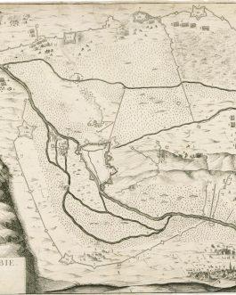 FRANCE – Corbie (Somme): Plan de Corbie.
