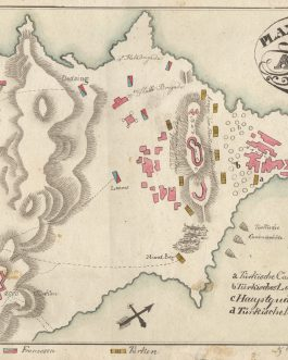 "EGYPT / BATTLE OF ABOUKIR: ""Plan der Schlacht von Abukir am 25. Juli 1799""."