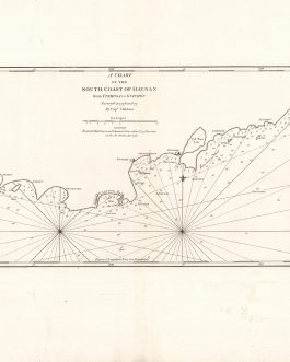 CHINA – HAINAN (South Coast, including Yalong Bay): A Chart of the South Coast of Hay-nan: from Tinhosa to Guichou Survey'd in 1776 and 77 By Captn. Haldane.