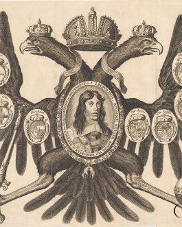 LEOPOLD I. VON HABSBURG: Leopoldus, Roomsch Keyser, Koning van Hongaryen en Bohemen, &c. Eerts Hartogh van Oostenryck etc.