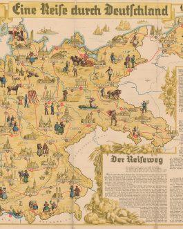 BOARD GAME: Eine Reise durch Deutschland.