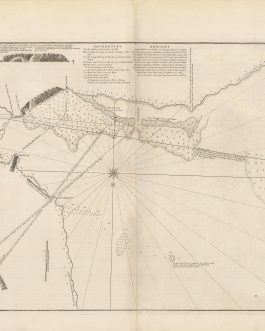 MADAGASCAR – Anantson̈o (St. Augustin's Bay): A Chart of St. Augustin's Bay, on the Island Madagascar As Surveyed by Wm. Nichelson, (Master of His Majesty's Ship Elizabeth) in the Year 1758.