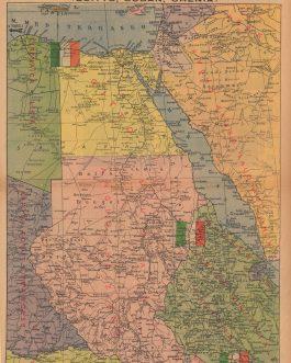 WWII AFRICA: Dove combiattamo in Africa (Egitto, Sudan, Chenia).