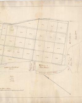 VRANA – CRES, Dalmatia: Wrana 10. Agosto 1795. Dissegno della Terra … Come dal Dis: E: Grimani dimonstrante il statto prezzente…