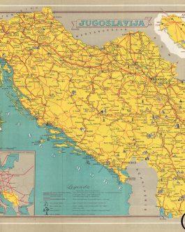 YUGOSLAVIA – AVIATION: Jugoslavija. Avijonski Saobrać...