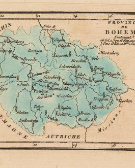 CZECH REPUBLIC / POLAND and GERMAY / JESUITS: Province d Boheme Contenant 26 Col. 2 Nov. 16 Sém. Mn. Prof. 3 Pens. 13 Rés. 10 Mns. 1230 Jés.tes.