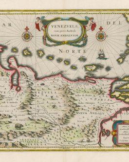 [VENEZUELA] Venezuela cum parte Australi Novae Andalusiae.