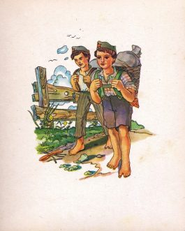POST-WWII BOOK FOR ORPHANED CHILDREN: Pionirska slikanica [Pioneer's Picture Book].