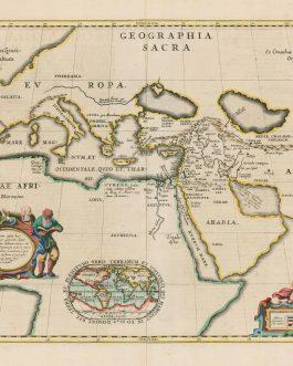 [SACRED GEOGRAPHY]. Geographia Sacra…
