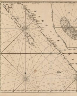 INDONESIA – SOUTHWESTERN SUMATRA (BENGKULU): [Untitled Chart of the West Coast of Sumatra, including Bengkulu (Bencoolen), extending to the Straits of Sunda].