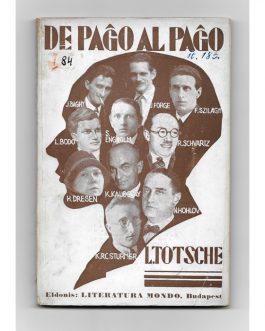 ESPERANTO: De paĝo al paĝo. Literaturaj profiloj [From Page to Page. Literary Profiles].