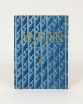 ESPERANTO: Akbar. Orienta Romano [Akbar. Oriental Novel]..