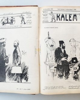 OTTOMAN SATIRICAL MAGAZINE: قلم Kalem [Pen].