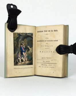 ROBINSONADE: Robinsons Reise um die Welt. Ein unterhaltendes u. belehrendes Lesebuch f. d. Jugend. Amerika. [Robinson's Travel Around the Worls. An Entertaining and Educational Reading Book for Young People. America].